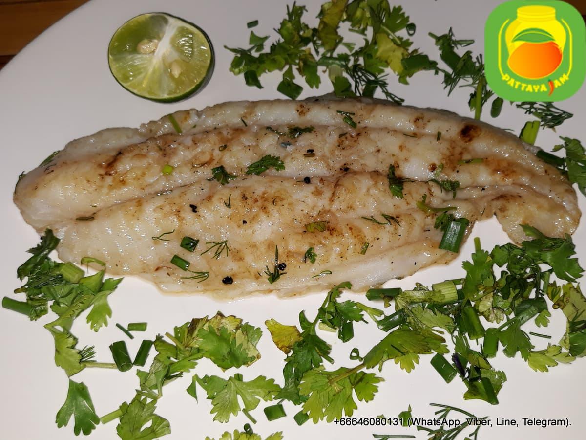 BBQ рыба на гриле