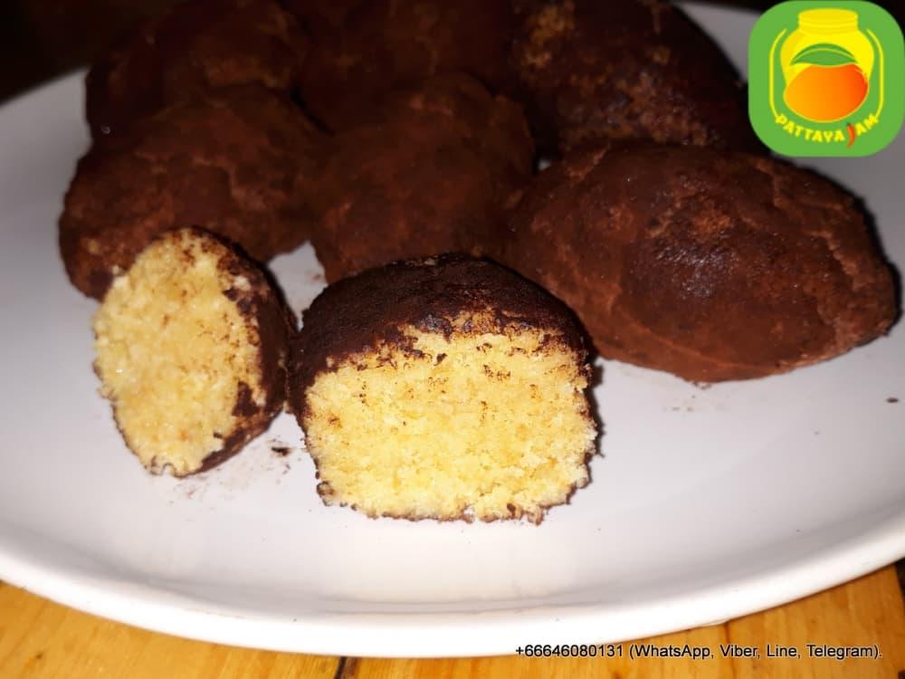 Пирожное - картошка, с сливочным маслом