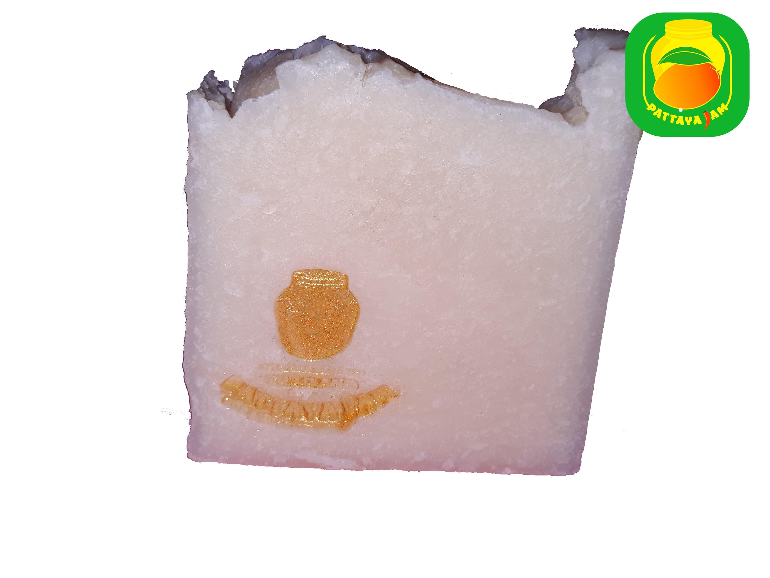 Мыло ручной работы хозяйственное, кокосовое, твердое натуральное.