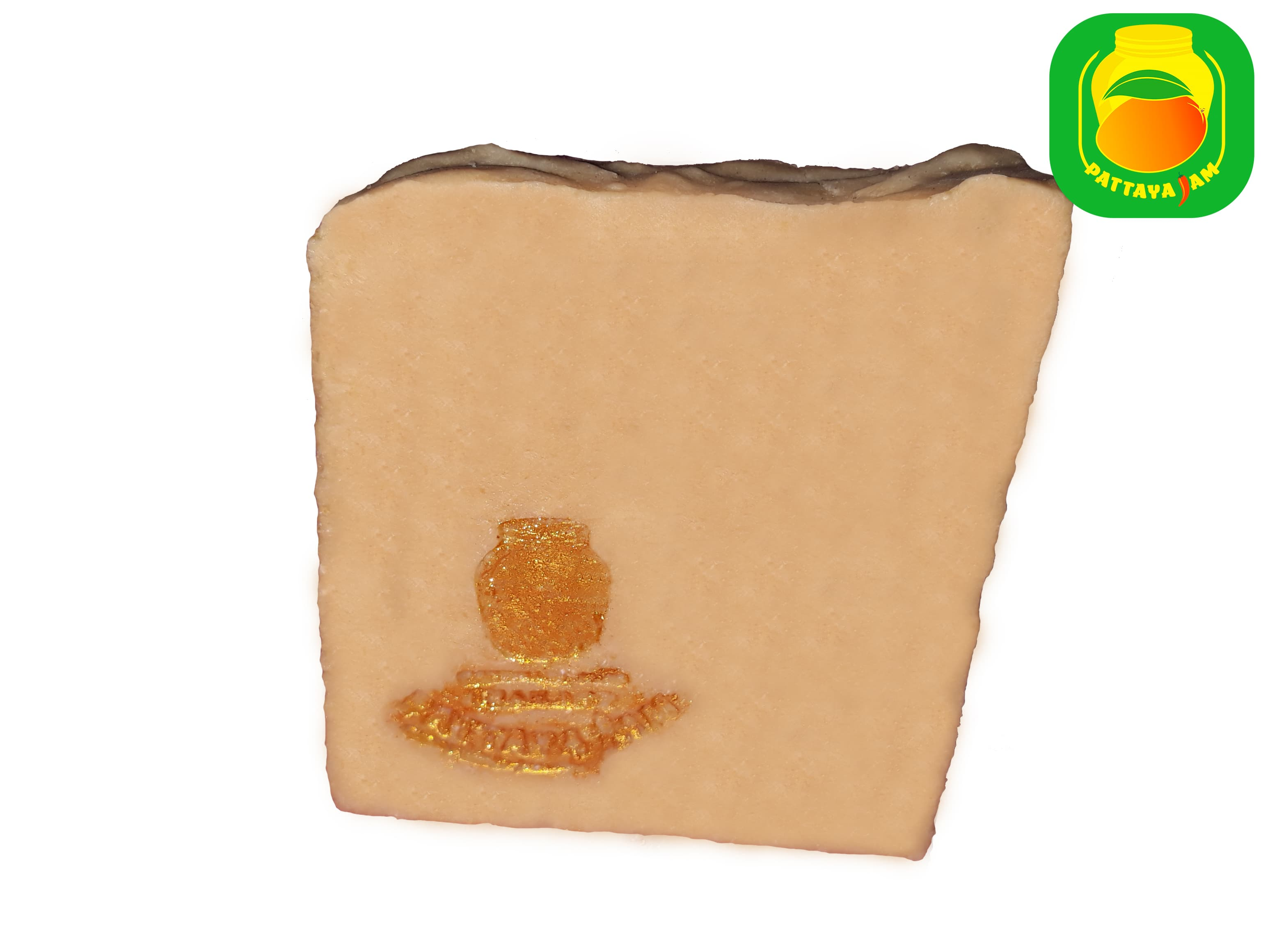 Мыло - скраб ручной работы кокосовое.
