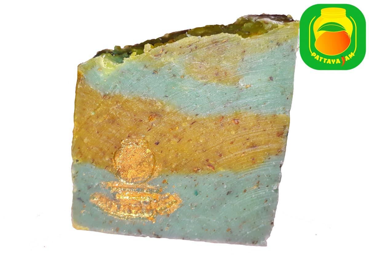 Мыло-скраб ручной работы Лемонграсс.