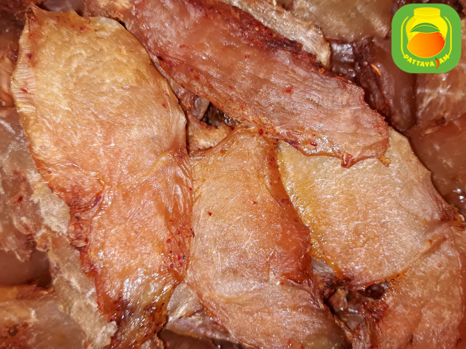Вяленое мясо курицы в Паттайе